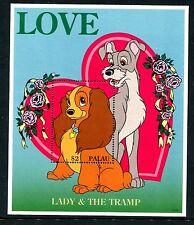 Palau 396 Mnh Disney characters Swethearts Bambi 1996. x17537a