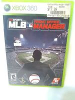MLB Front Office Manager Microsoft Xbox 360 Complete FREE FAST Shipping Fun