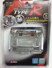 JDM TYPE R CAR AC DRINK CUP HOLDER CELLULAR MOBIL PHONE POCKET DHTH-TR36