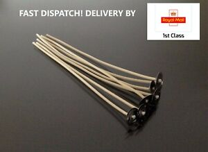 6 Inch/15cm High Quality Wick&Sustainer-Essential For Candle Making 1/20/50/100