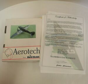 Rare Aerotech Marsh Models DH88 Limited Edition 86/150 With Certificate (D2)