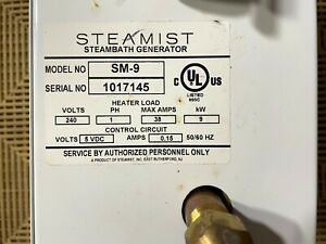 The Steamist SM-9 Steambath Generator