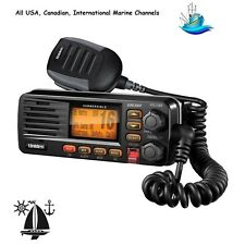 Uniden Rugged & Compact Submersible Marine Class D UM380 VHF Radio All Channels