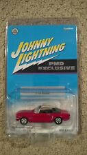 1965 FORD MUSTANG CONVERTIBLE 2002 JOHNNY LIGHTNING PMD EXCLUSIVE 1:64