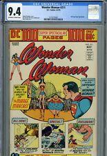 Wonder Woman #211 CGC 9.4 OWTW  DC 100 Page Super Spectacular   Superman  1974