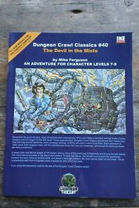 DCC#40 - The Devil in the Mists - Dungeon Crawl Classics - AD&D RPG