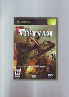 CONFLICT VIETNAM - XBOX GAME - FAST POST - ORIGINAL & COMPLETE WITH MANUAL - VGC