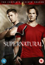 SUPERNATURAL - SEASON 6 - DVD - REGION 2 UK