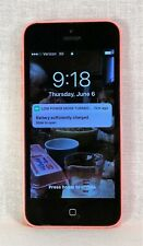 Apple iPhone 5c Model A1532 Verizon Locked Charges and Powers up  Pink