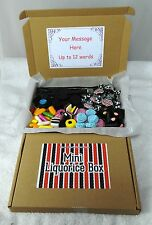 Liquorice Retro Gift Postal Box For all occasions, Flyers Wands Allsorts Spogs