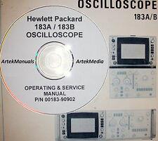 HP 183A 183B Operating & Service Manual