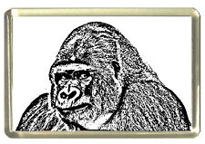 Gorilla Fridge Magnet - Wildlife