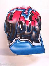 Custom Airbrush Graffiti Block Urban Adult Sports Kids Youth Team Cap Hat Tagger