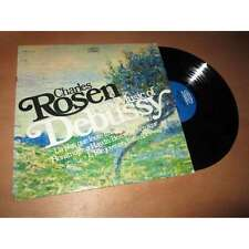 CHARLES ROSSEN piano music of DEBUSSY - EPIC US Lp 1967