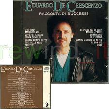 "EDUARDO DE CRESCENZO ""RACCOLTA DI SUCCESSI"" RARO CD RICORDI CDOR"