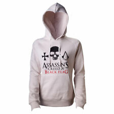 BNWT LOVELY LADIES BEIGE ASSASSINS CREED HOODIE SIZE SMALL ONLY