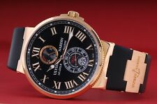 Ulysse Nardin Maxi Marine Chronometer 43 mm Rose Gold, ref. 266-67-3/42