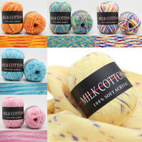 1Roll Knitting Wool Yarn Soft Hand Crocheted Warm Crochet Knitted Yarn New