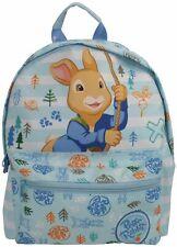 Peter Rabbit A Rayas Azul Y Blanca Mochila Guardería Niños Mochila Bolso Roxy