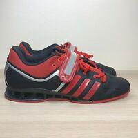 Adidas Adipower Olympic Weightlifting Shoes Red Black Men's Size 16