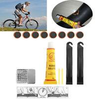 la colle timbre de caoutchouc l'outil de réparation de bicyclettes le vélo tire