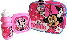 Minnie Mouse Sac Repas Isotherme Avec Sandwich Boite Et Bouteille