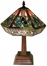 Warehouse of Tiffany-style Mission Table Lamp 766+SB86