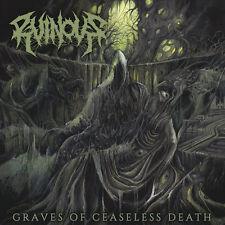 RUINOUS - Graves of Ceaseless Death CD, NEU