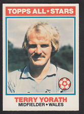 Topps - Footballers (Orange Back) 1978 - # 141 Terry Yorath - Coventry