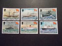 Isle of Man 1980 Commemorative Stamps~Steam Packet~Very Fine Used Set~UK Seller