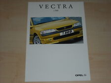 63773) Opel Vectra B i 500 Prospekt 02/1998