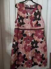 Croft&Barrow Woman's Stretch Sleeveless Dress Women's Plus Size 3X VERY CLASSY!