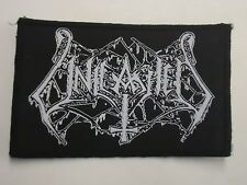 UNLEASHED LOGO DEATH METAL WOVEN PATCH
