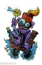 Comic Taboo Tiki God Booze Mace Fez Vinyl Sticker Decal Mr G  Rockabilly RareOOP