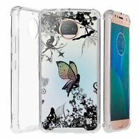 For Moto G5s Plus XT1806 Bumper Shockproof Case Fairies