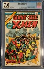 Giant-Size X-Men #1 CGC 7.0 (1975) 1st Appearance of the New X-men Key