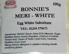 Meri - White 100g Egg Substitute, Royal Icing, Meringues. Sugarcraft Decorating