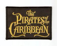 + Aufnäher Patch  Fluch der Karibik  THE PIRATES OF THE CARIBBEAN Logo