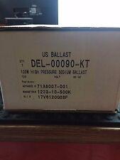US BALLAST DEL-00090-KT 100 WATT HIGH PRESSURE SODIUM BALLAST KIT