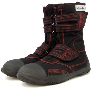 Power Ace Steel Toe Cap Safety Boots - Stylish Durable Canvas material