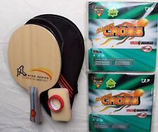 Start Professional Allround Custom-made Table Tennis Bat: DHS SR-A + 729 Rubber