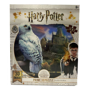 """Harry Potter Hedwig Owl 3D Image Prime 300 Jigsaw Puzzle 24"""" x 18"""" By Crown  New"""