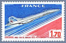 Timbre Poste Aérienne PA49 Neuf** - Concorde Paris-Rio de Janeiro - 1976
