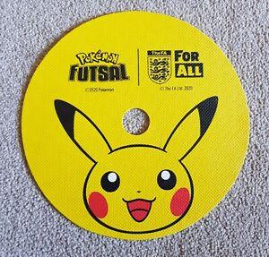 10 x NEW Pokemon Pikachu Flat Rubber Markers 20cm - Official FA Football Futsal