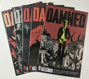 The Damned 1 2 3 4 5 Comic LOT Oni Press 1st Print COMPLETE Set Full Cullen Bunn