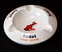 Vintage Erdal Einfach Glanzend Ceramic Ashtray