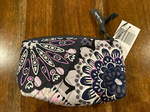 Vera Bradley Mirror Cosmetic Case Pouch MIMOSA MEDALLION w/ Mirror Attached NWT