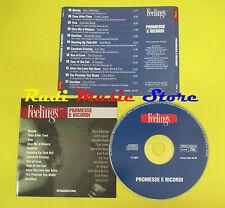 CD PROMESSE E RICORDI FEELINGS compilation PROMO 2002 LANG LAUPER KATE BUSH*(C7)