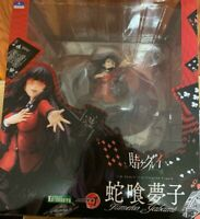 New Kotobukiyas ARTFX Kakeguri Jabami Yumeko Scale 1/8 PVC Figure from Japan