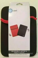 """ONN REVERSIBLE LAPTOP & TABLET SLEEVE UP TO 10.2"""" Free Shipping"""